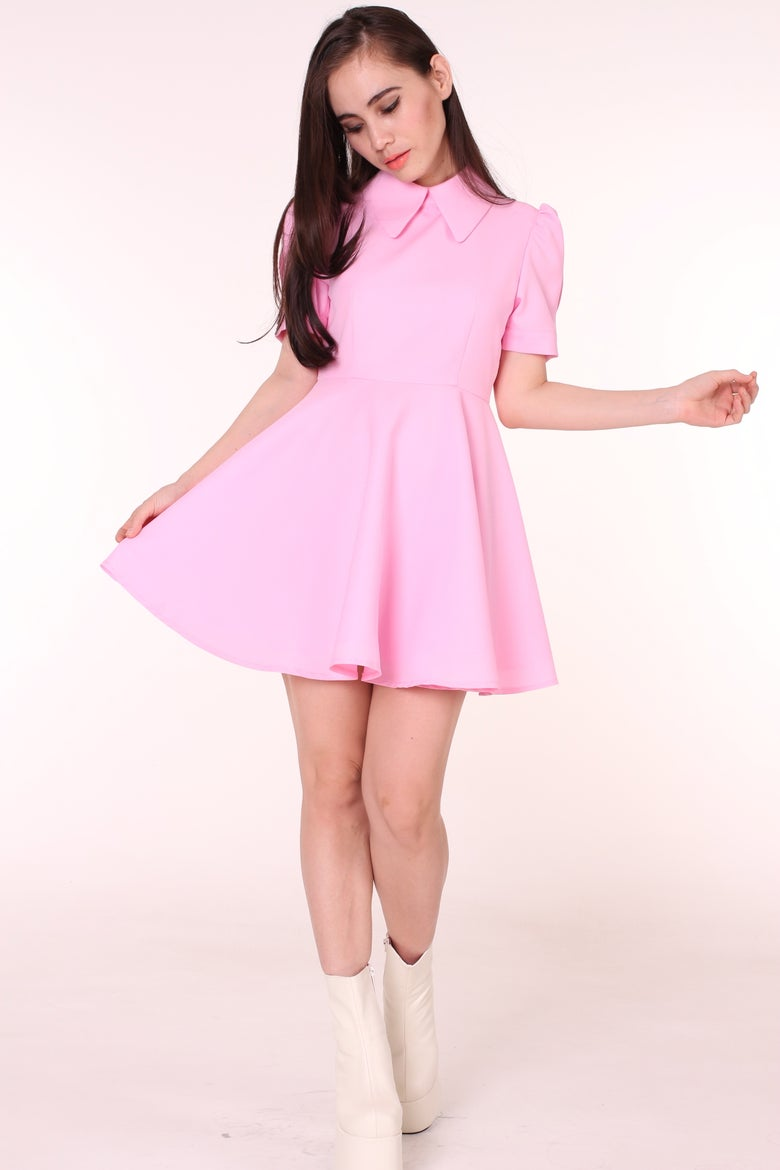 Image of MADE TO ORDER - Pink Alice Dress