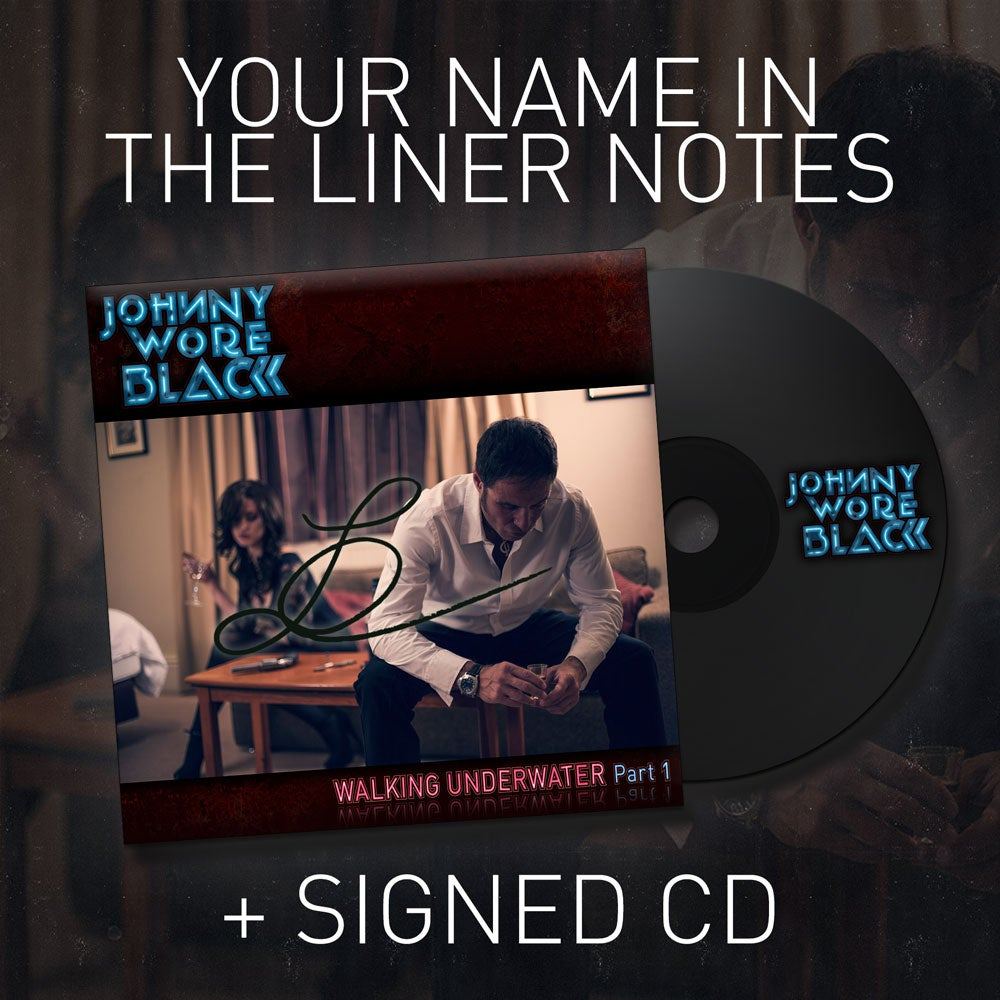 Image of Your Name in the Liner Notes + Signed CD