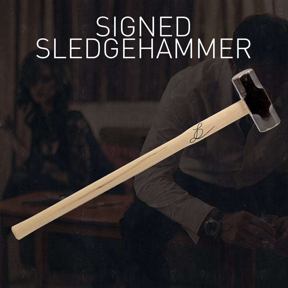 Image of Signed Sledgehammer from Gift of Desperation music video