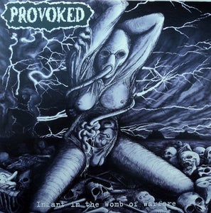 "Image of PROVOKED ""Infant in the womb of warfare"" CD"