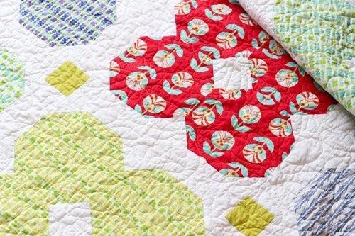 Image of Florette Quilt PAPER Pattern