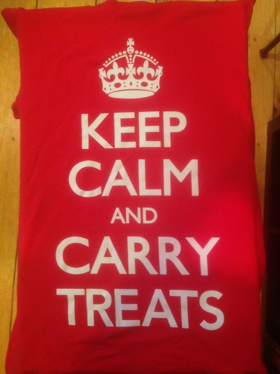 Image of Keep Calm and Carry Treats