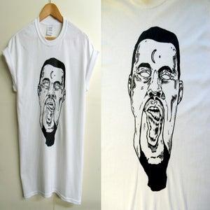 Image of White Kanye melt t-shirt