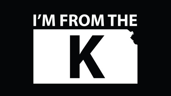 "Image of ""I'm from the K"" Standard Crew Neck Tee [BLK/WHT]"