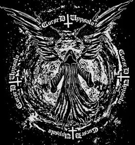 Image of Cursed Uppsala T-shirt Black Hole Design.