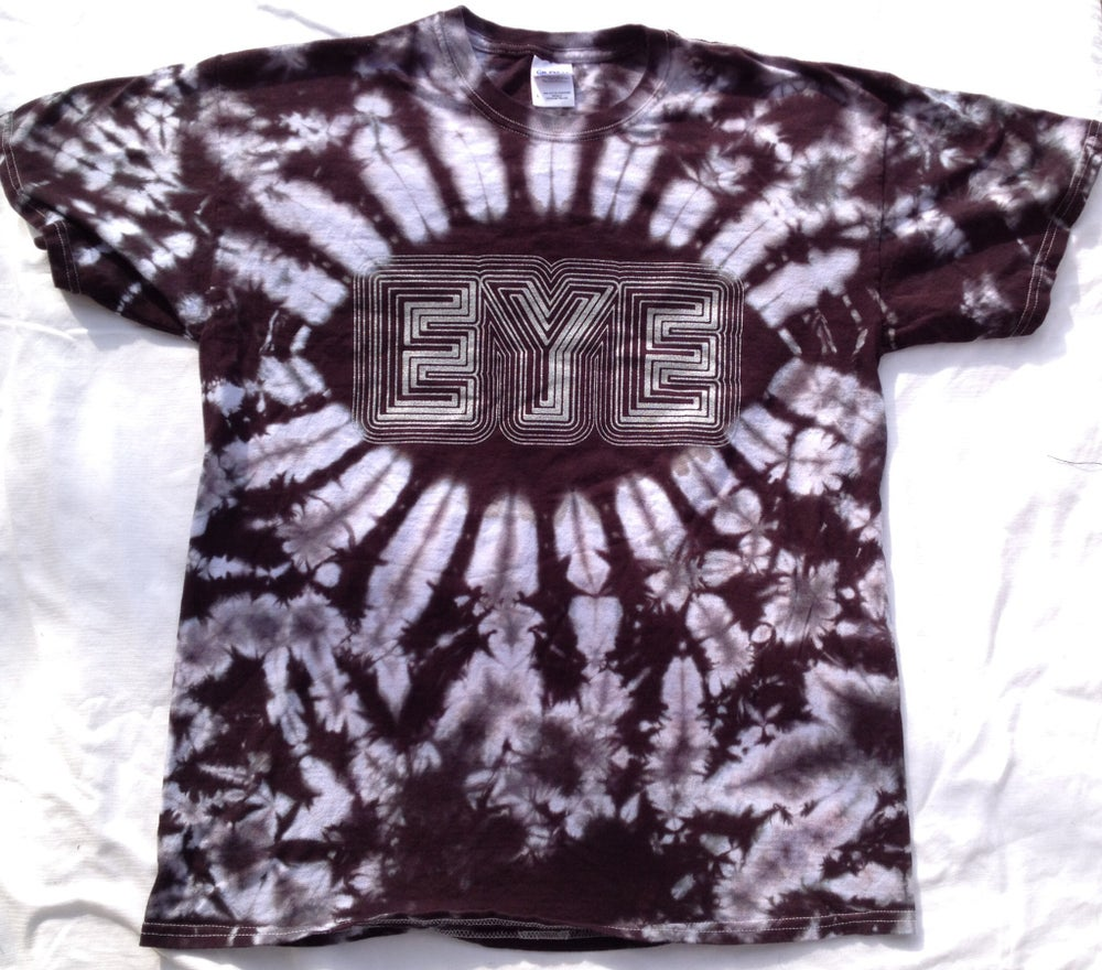 Image of EYE T-shirt- Tie-dye (Black)
