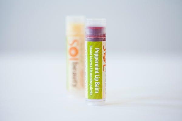 Peppermint Lip Balm - Sol  Beauty