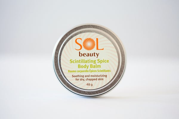 Scintillating Spice Body Balm - Sol  Beauty
