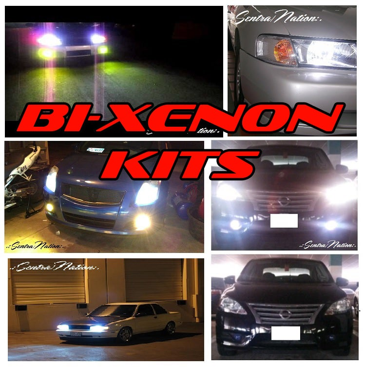 Image of Bi-Xenon 6000K Ultra White HID Kit (All Year Sentras exc.B17)