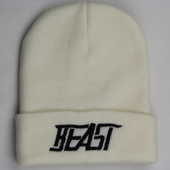 Image of Beast Beanie – White