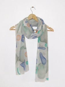 Image of Silk crepe scarf 3