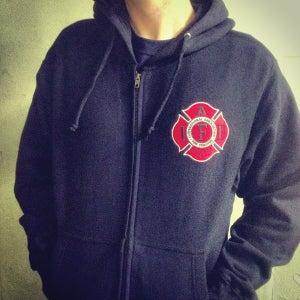 Image of IAFF Hooded Sweatshirt