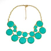 Image of Double Layer necklace: Turquoise