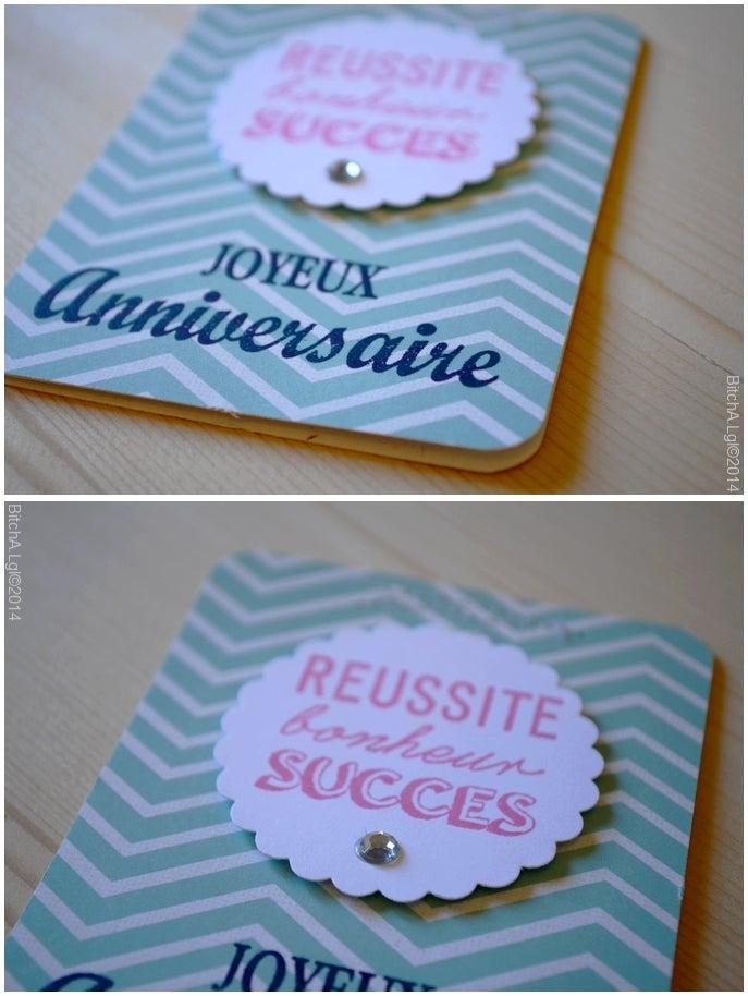 """Image of Carte d'Anniversaire """"Joyeux Anniversaire"""" coloré"""