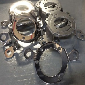 Image of  BCM 304 Stainless CV Carb Support ~ 91 & Up Sportsters