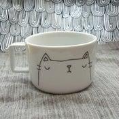 Image of kitteh mugs #4 & #6 -- made to order