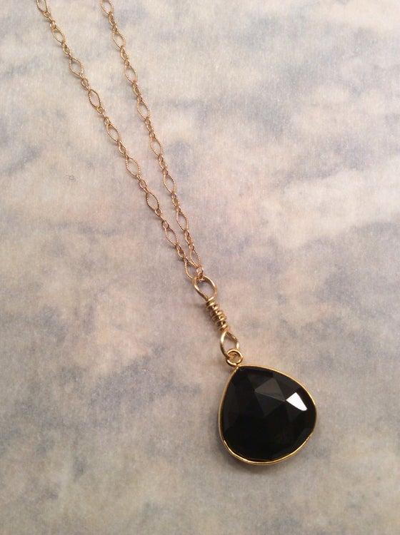 Image of gemstone necklace
