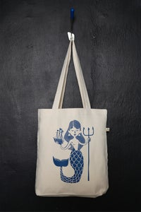 "Image of ""Mermaid"" shopper tote bag"