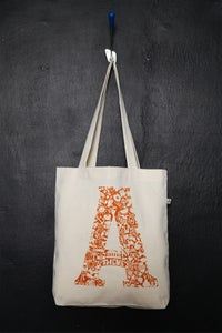 "Image of ""Athens Monogram"" shopper tote bag"