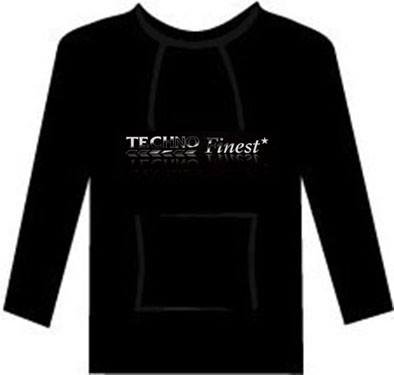 Image of Techno Finest hoodie (Gildan softstyle)