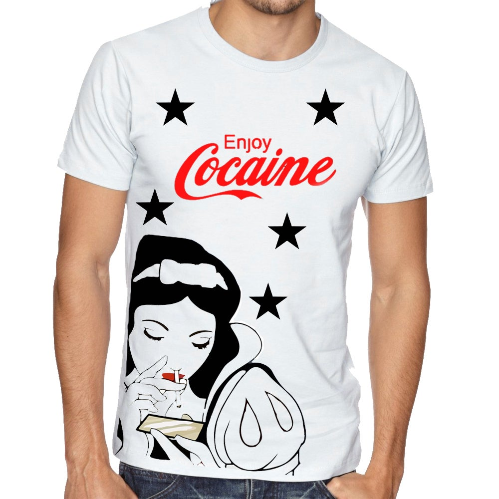 Snow White Cocaine T-shirt / Peekcartel