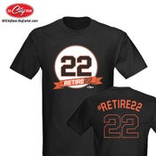 Image of Retire 22 - Jersey T-Shirt
