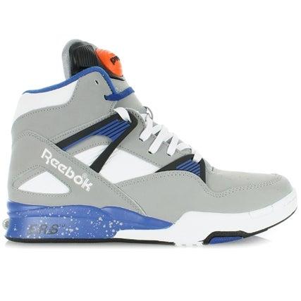 Image of Reebook Pump Omni Zone Retro (Tin Grey/Royal/Black)