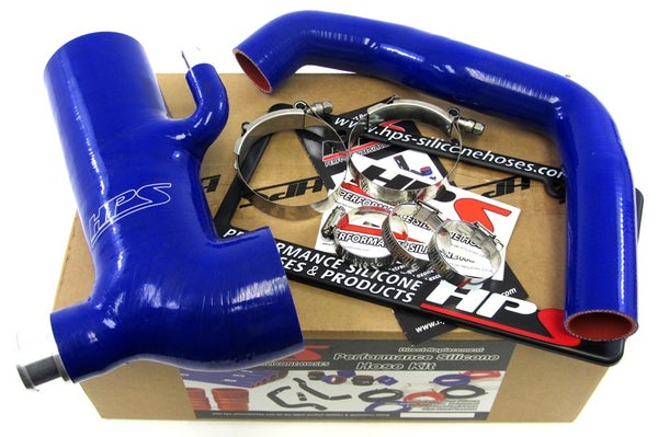 Image of HPS Silicone Air Intake Post MAF Hose + Sound Tube Blue
