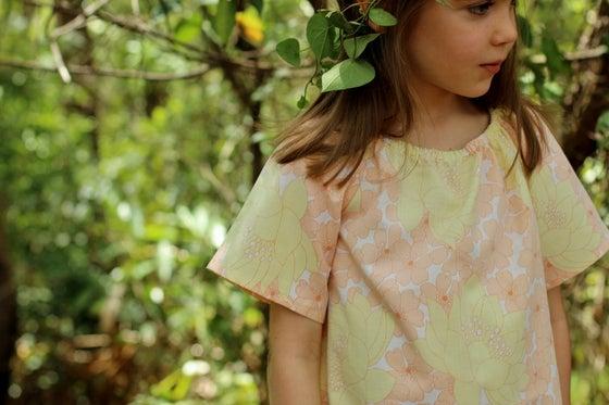 "Image of ""Pearl"" nightie (cotton) Sizes 0 - 5"