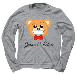 Image of Jason Christopher Peters Exclusive Signature Bear Sweatshirt
