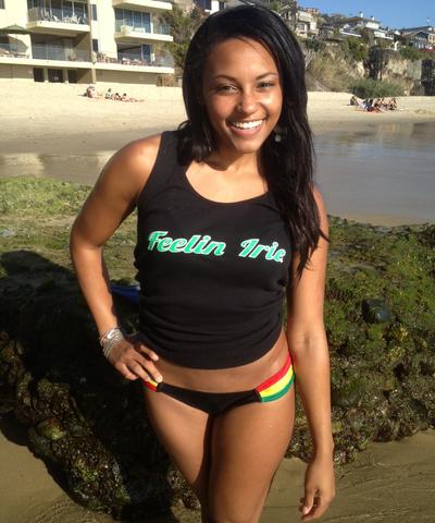 Image of Feelin Irie Woman's Tank or Tshirt