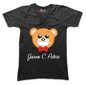 Image of Jason Christopher Peters Exclusive Signature Bear V Neck Tee