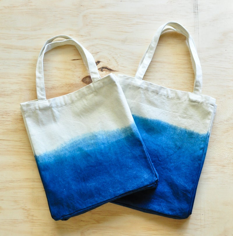 Image of Totes Good - Dip Dyed Canvas Totes