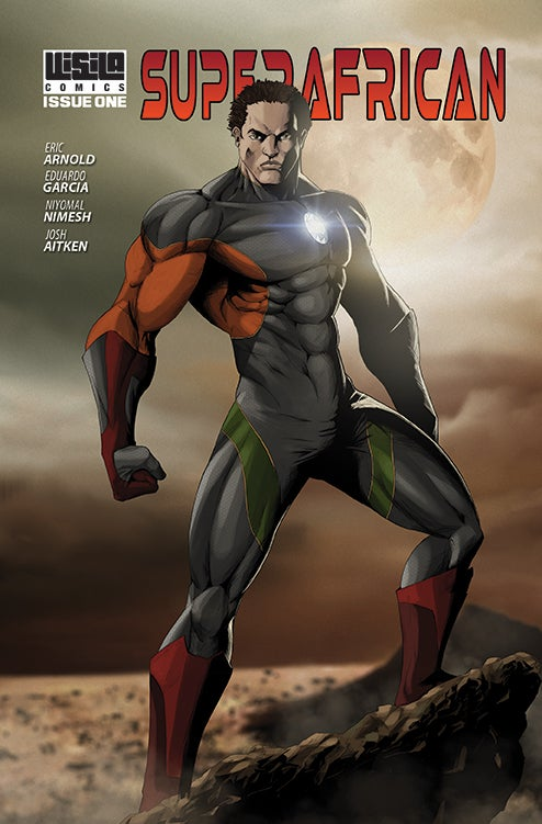 Image of LIMITED EDITION: Superafrican Comicbook