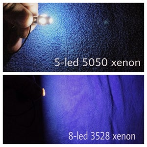 Image of Ford Focus 2000-2007 Xenon LED Dome Light Set