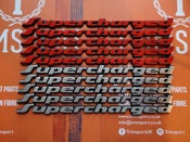 Image of Trimsport VW Golf Corrado G60 Supercharged Badge 135mm