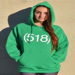 Image of 518 Green Hoodie