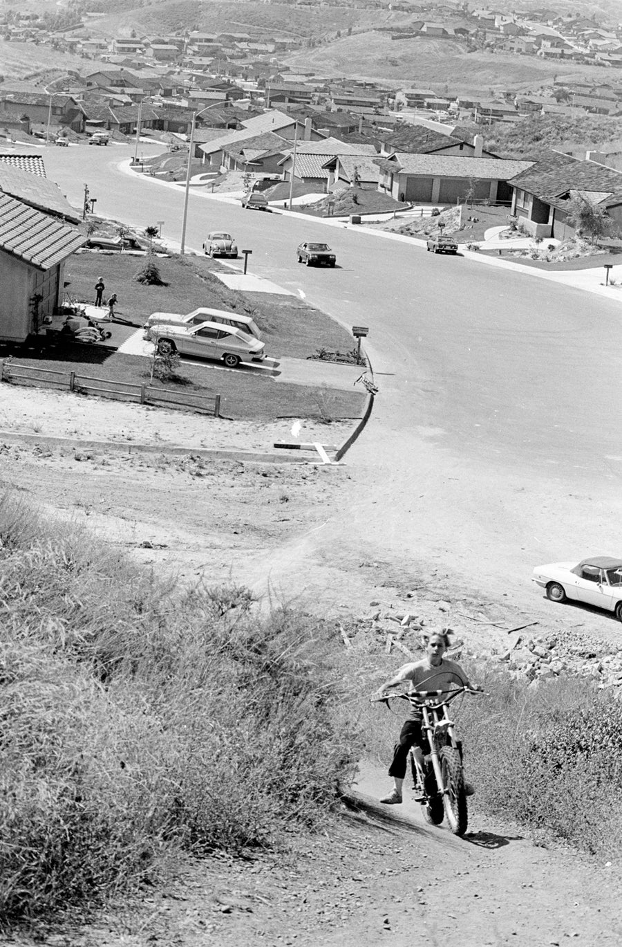 Image of Dirt Bike Riding In San Diego; Early 70's