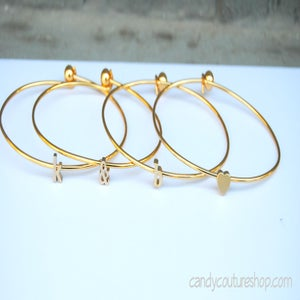 Image of Single letter Bangle