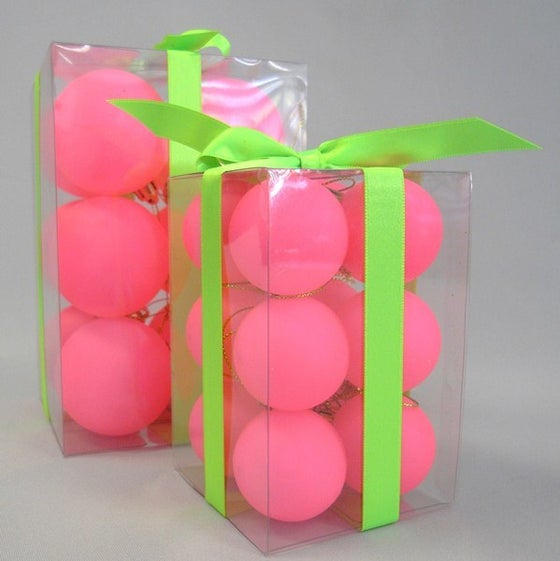 Image of Neon Pink Baubles