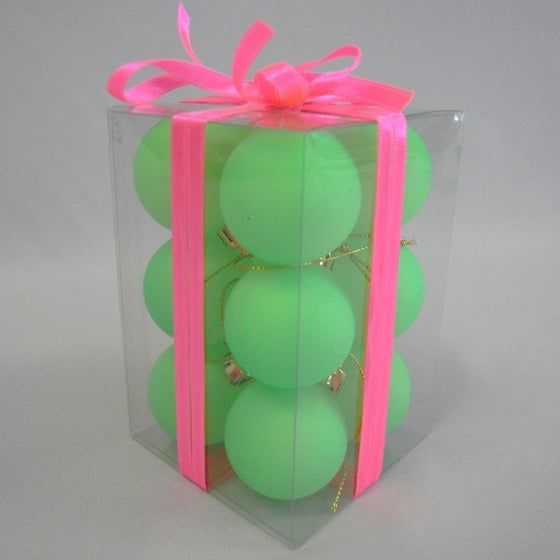 Image of Neon Green Baubles