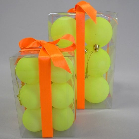 Image of Neon Yellow Baubles