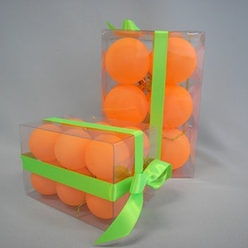 Image of Neon Orange Baubles