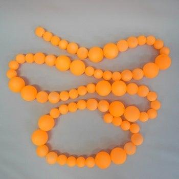 Image of Neon Orange Garland