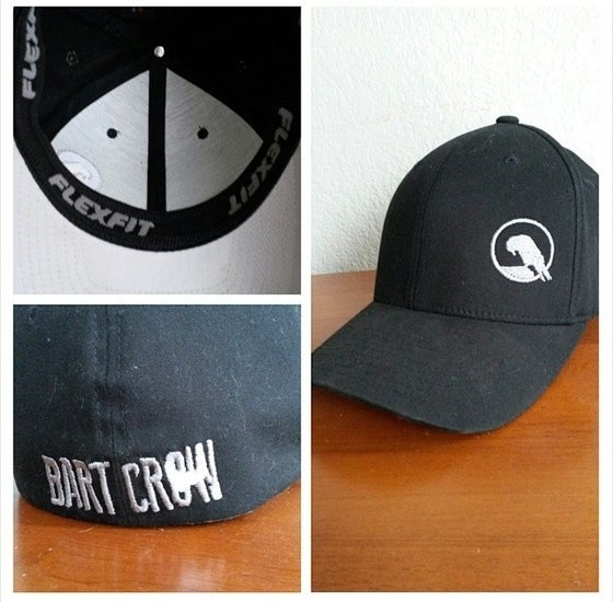 Image of BC Black FlexFit hats