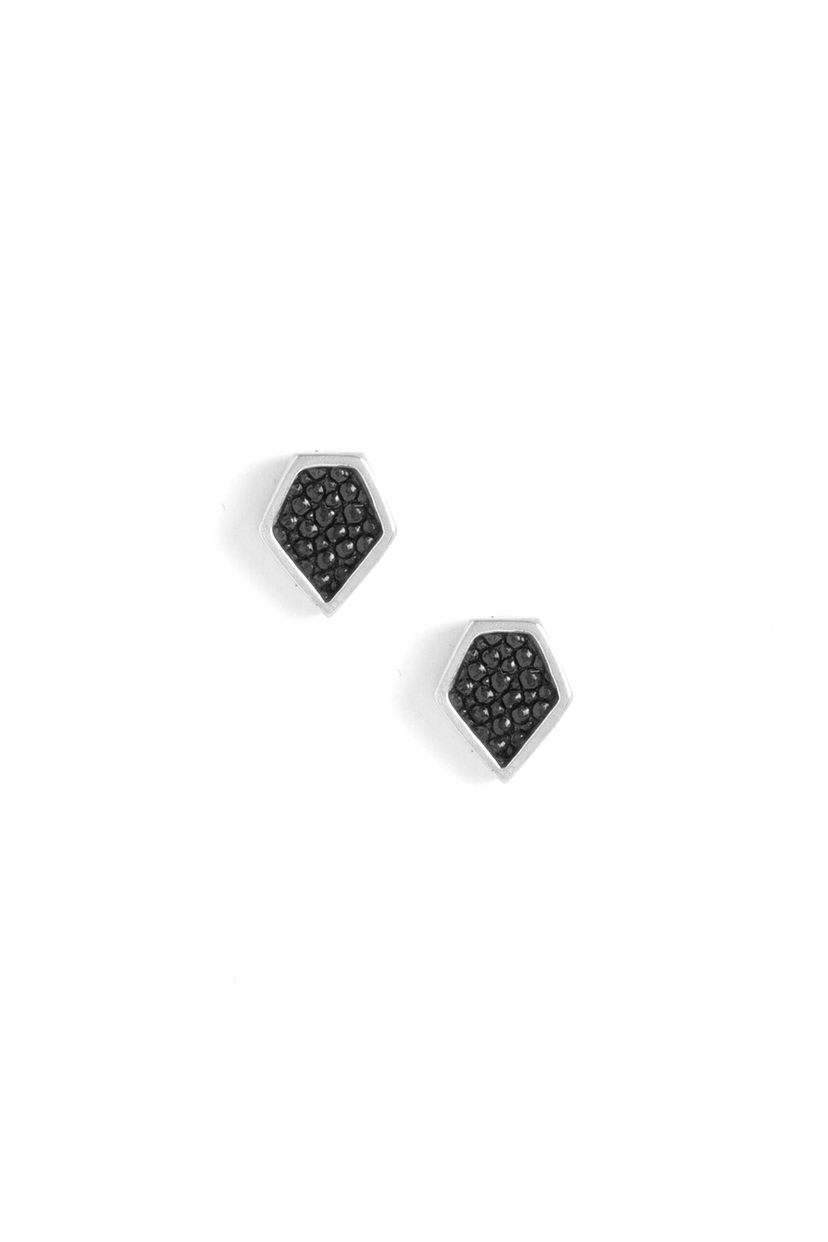 Image of DIAMOND STUDS - SILVER