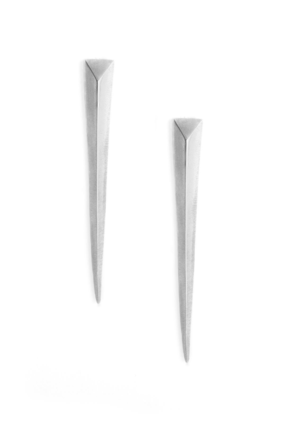 Image of SABER STUDS - LARGE - SILVER