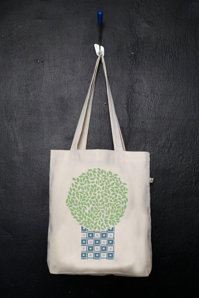 "Image of ""Vasilikos"" shopper tote bag"