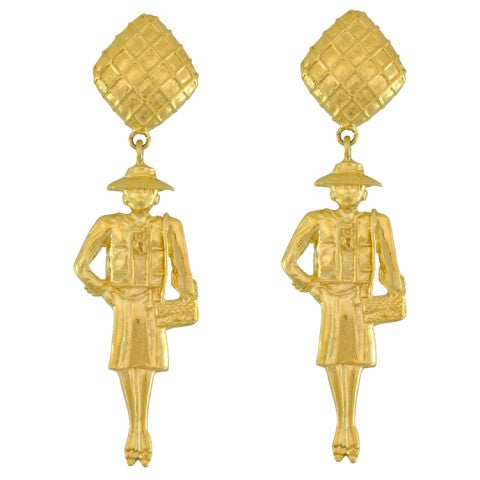 Image of SOLD OUT Chanel Coco Mademoiselle Earrings -RARE