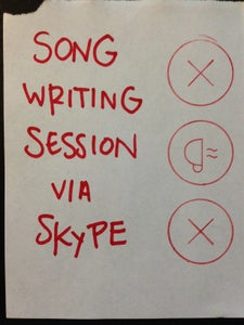 Image of SONGWRITING SESSION